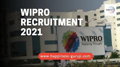 Wipro Recruitment 2021   Any Graduate can Apply Online
