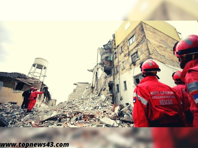 Earthquake In Albania - Dozens Of People Saved From The Rubble