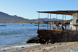 Isleta del Moro, embarcadero