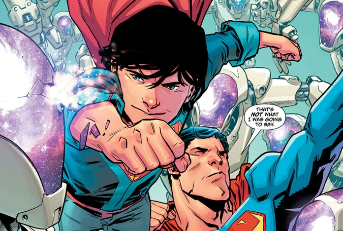 Superman Fears His Son Overconfidence Might Hurt Those They Trying To Help. [Superman #26 Preview]