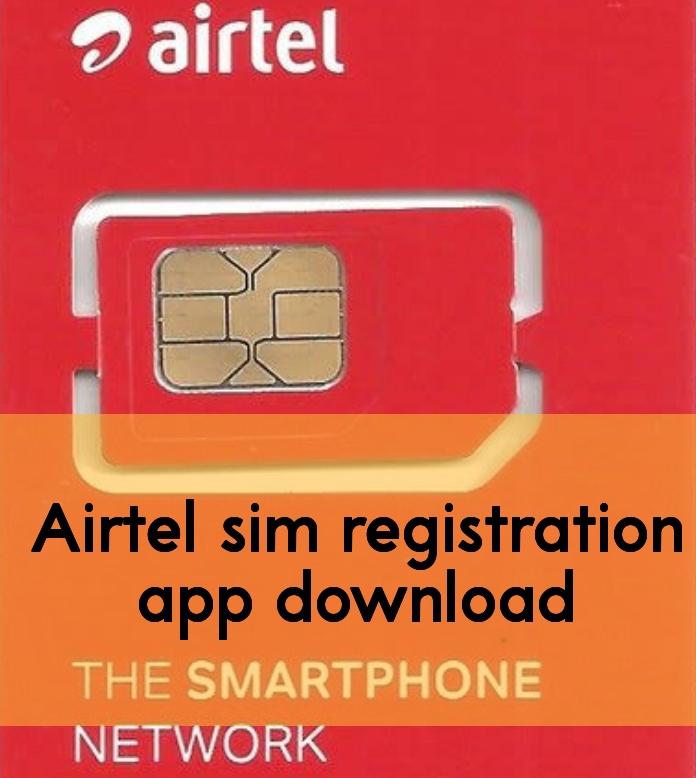 Airtel sim registration app download image