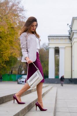 propuestas de Zapatos Violeta