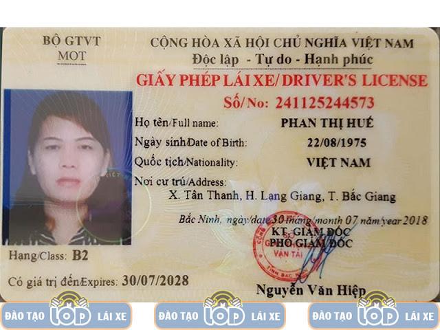 Học lái xe ô tô hạng B2 tại HH Linh Đàm - Hoàng Mai