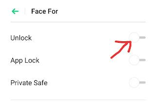 Face Lock Kaise Hataye