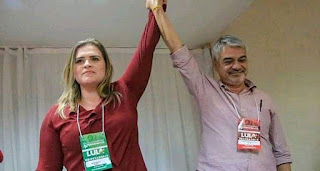 Durante visita de Lula, Marília e Humberto defendem os próprios nomes para o governo de Pernambuco.