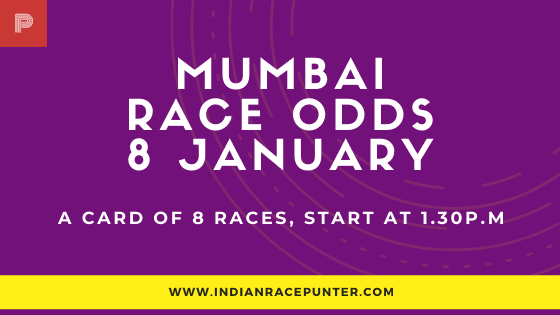 Mumbai Race Odds 8 January