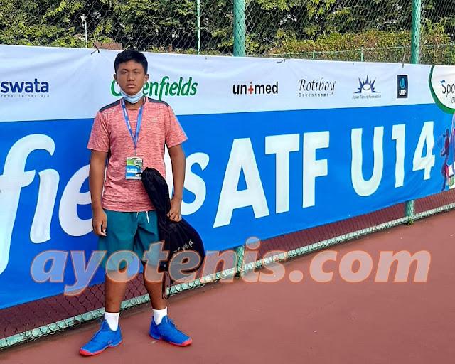 Rangga Wisnu Kresna Kejutkan Turnamen Tenis Greenfields ATF 14U by SPORTAMA Seri 1