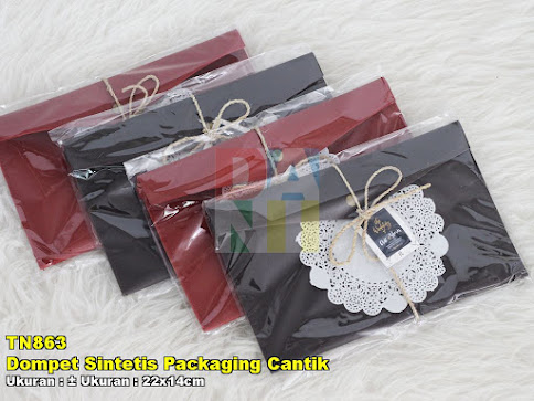 Dompet Sintetis Packaging Cantik
