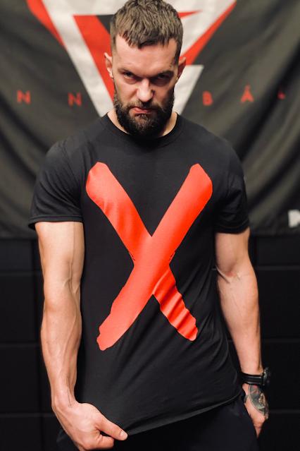 Finn Balor X shirt.  PYGear.com