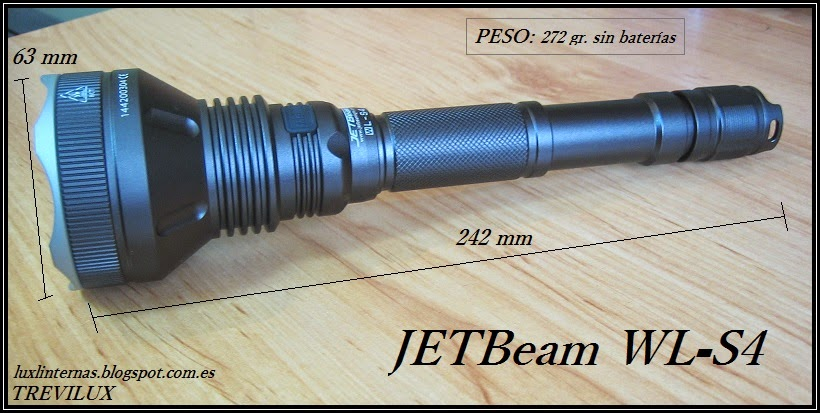 JETBeam WL-S4 review luxlinternas.blogspot.com.es