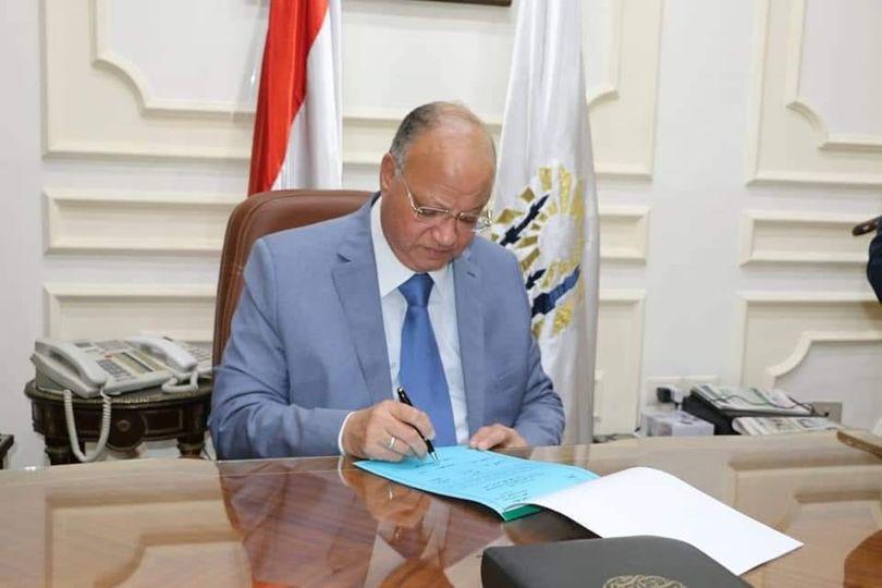 محافظ القاهرة يعتمد نتيجة الفصل الدراسى الثانى  للشهادة الاعدادية بنسبة نجاح ٨٣.٩ %