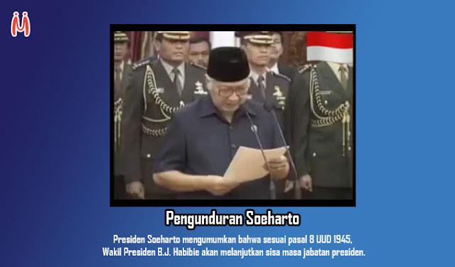 Pengunduran Soeharto