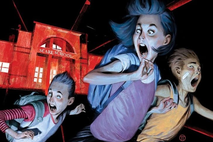 Disney+ разрабатывает сериал Just Beyond по комиксам писателя Р. Л. Стайна