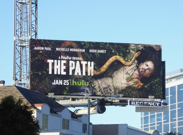 The Path season 2 billboard