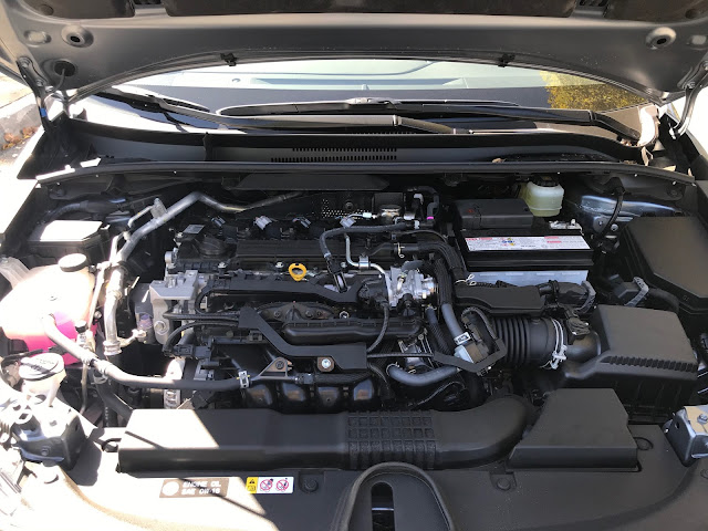 Engine in 2020 Toyota Corolla XSE