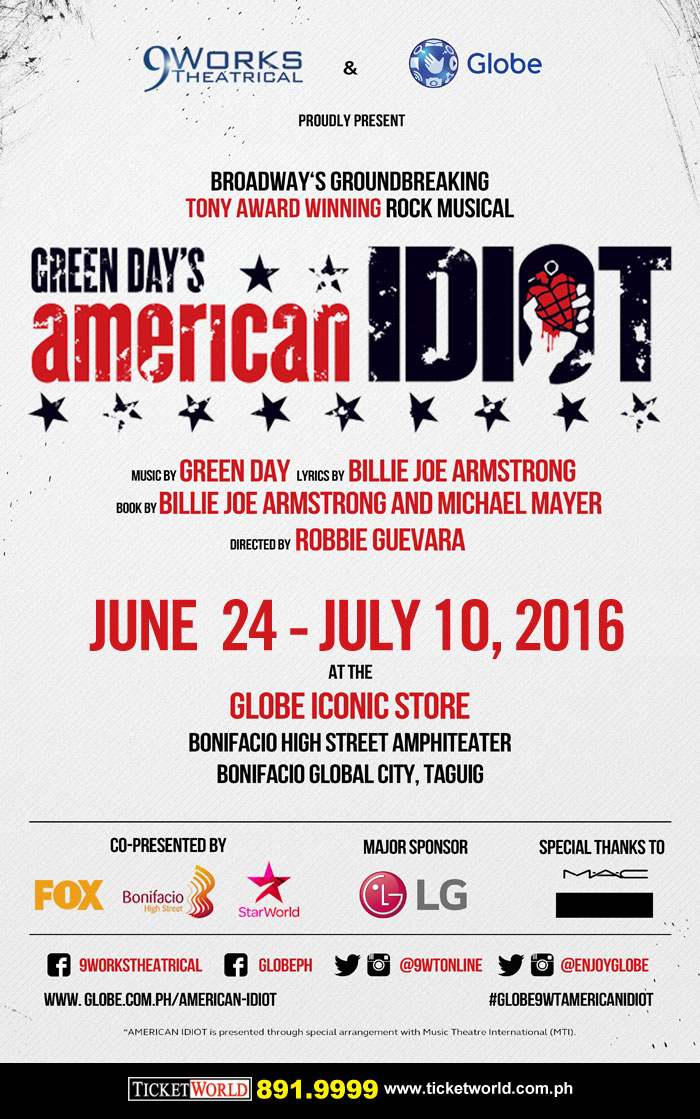 American Idiot Musical On Tour