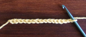 Tunisian Ladder Stitch Foundation Chain