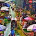 Náo nhiệt và tấp nập khu chợ nổi vùng quê Thái Lan