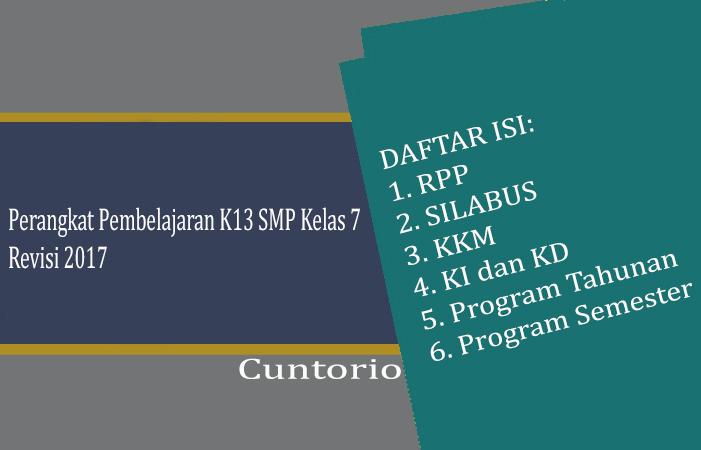 Permalink ke Perangkat Pembelajaran Kurikulum 2013 SMP kelas 7 Revisi 2017