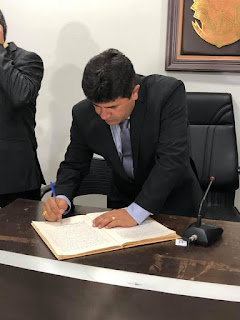 Presidente da Câmara Municipal de Cacimba de Dentro, Nobinho Carvalho nas redes sociais agradeceu  a confiança do povo cacimbense.