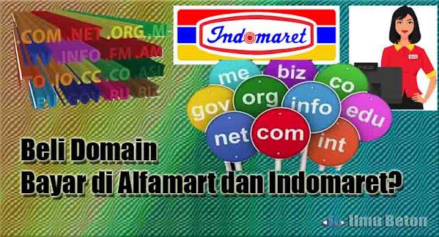 Beli Domain Bayar di Alfamart dan Indomaret?