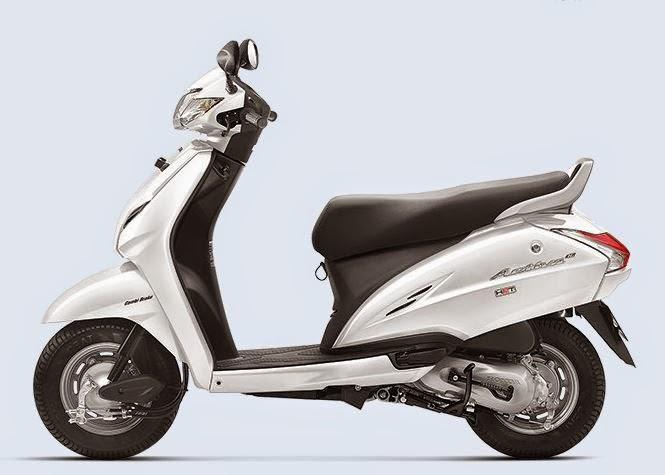 Honda Activa 3G White Color