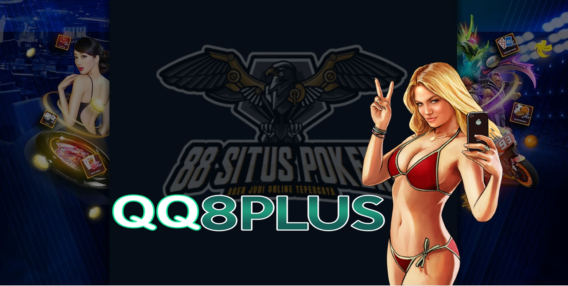 QQ8Plus indonesia merupakan agen taruhan bola online yang sangat dipercaya