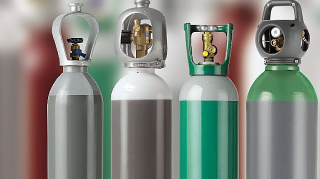 nhập khẩu bình chứa khí