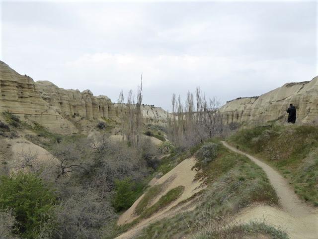 inizio sentiero white valley