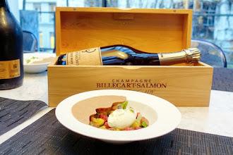 Coup de Coeur : Pierre Hermé imagine un dessert en accord avec la cuvée Brut Sous Bois de la Maison de Champagne Billecart-Salmon