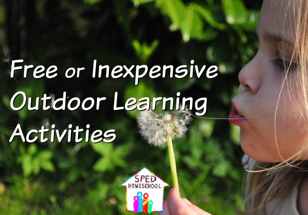 Free or Inexpensive Outdoor Learning Activities