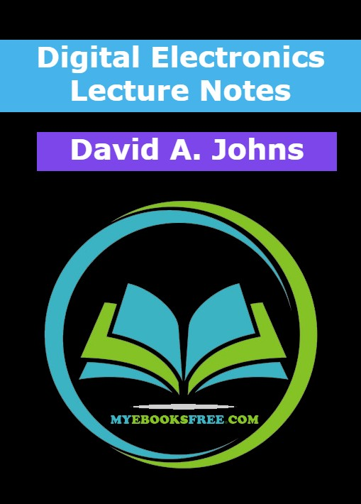 Digital Electronics Lecture Notes Book