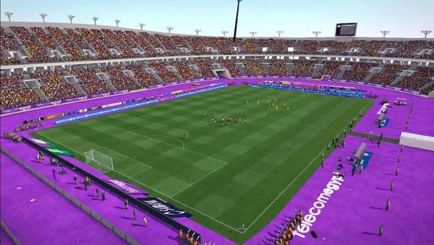 PES 2017 Borg El Arab Stadium by mohammed hammani