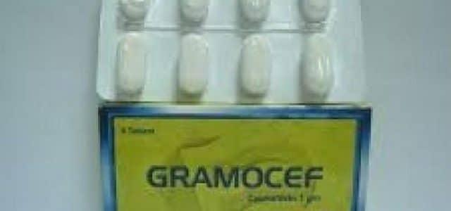 سعر ودواعي إستعمال جراموسيف Gramocef أقراص مضاد حيوى