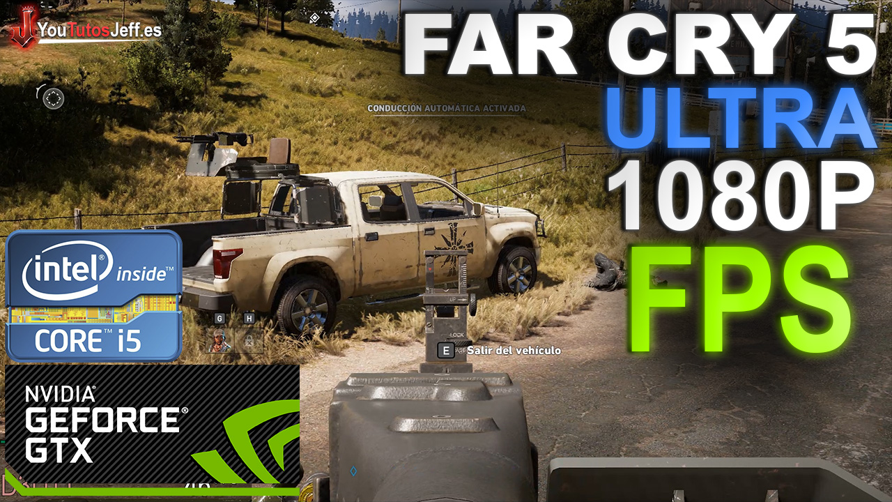 Far Cry 5 Benchmark: GTX 1050 TI 4GB - i5 6600 - ULTRA 1080P