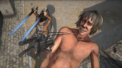 تحميل لعبة هجوم العمالقة Attack on Titan Wings of Freedom للكمبيوتر