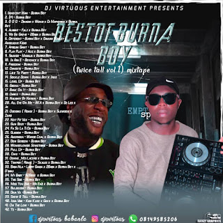 [Mixtape] DJ Virtuous_-_Best Of Burna Boy ( Twice Tall Vol 1) Mixtape