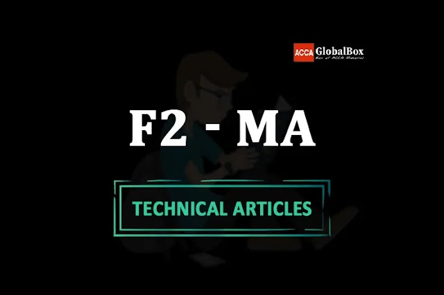 F2 - (MA) - 2021 | ALL in One Technical Articles