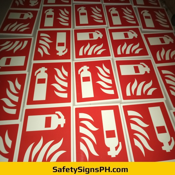 Sintraboard Fire Extinguisher Signages Philippines