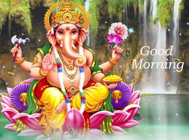 Best Ganesh Chaturthi Good Morning Images