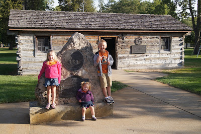 Original Pony Express Station in Gothenburg, NE - homeschool fieldtrip