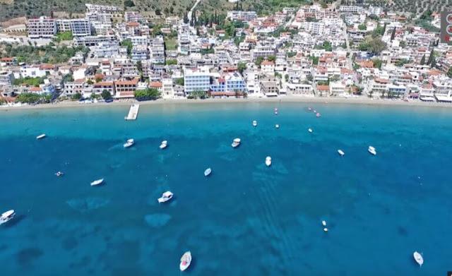 """Τολό: Η """"Κόπα Καμπάνα"""" της Πελοποννήσου (βίντεο drone)"""
