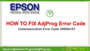 "How to fix AdjProg ""Communication Error Code 20000107"""