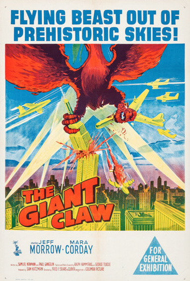 Poster - The Giant Claw (1957)