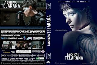 CARATULALA CHICA EN LA TELARAÑA - THE GIRL IN THE SPIDER'S WEB - 2018