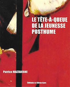 """Les recueils de Malta disponibles : """"Le tête-à-queue de la jeunesse posthume"""" (Le Citron gare)"""