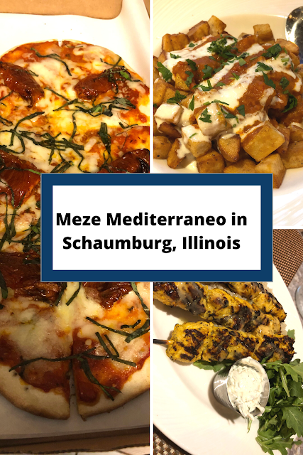 Sharing Tasty Plates at Meze Mediterraneo in Schaumburg, Illinois