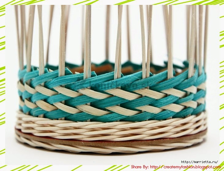 Basket Weaving Ri : Diy