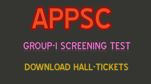 APPSC-Group-1-Screening-Test-2017