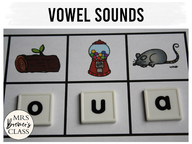 Alphabet literacy centers and phonics activities for Kindergarten